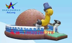 Inflatable rock climbing, Interesting sports amusement equipment