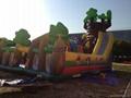 充气旋转滑梯,充气大型滑梯,充气儿童玩具