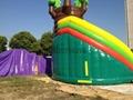 充气旋转滑梯,充气大型滑梯,充气儿童玩具 6