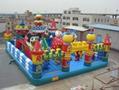 Disney castle, inflatable inflatable large entertainment children castle  3