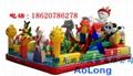 Disney castle, inflatable inflatable large entertainment children castle  5