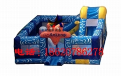 inflatable jumping bed ,Inflatable sea star castle
