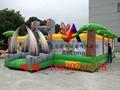 Inflatable dinosaur park, inflatable trampoline  3