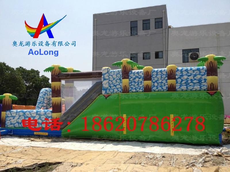 Inflatable snow dinosaur park, inflatable castle dinosaur  5
