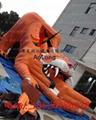 Inflatable slide tiger  4