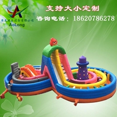 Inflatable eight rock cl
