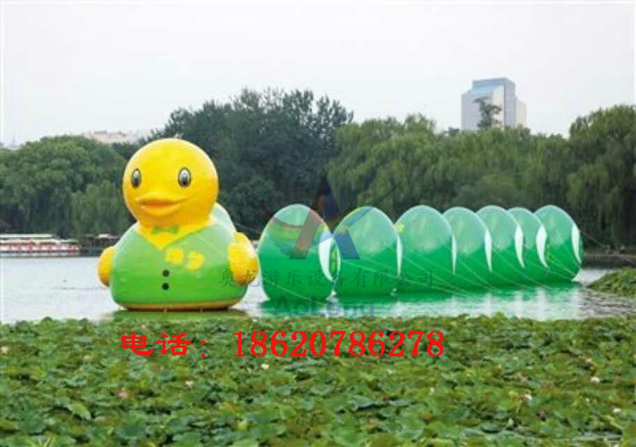 充氣大黃鴨,香港大黃鴨,水上大黃鴨,超大閉氣大黃鴨 2