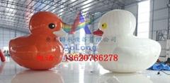 Inflatable rhubarb duck,Water rhubarb duck,Very large breath rhubarb duck