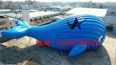 充气大鲸鱼,百万海洋球池鲸鱼帐篷,充气鲸鱼帐篷