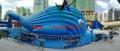 充气大鲸鱼,百万海洋球池鲸鱼帐篷,充气鲸鱼帐篷 2