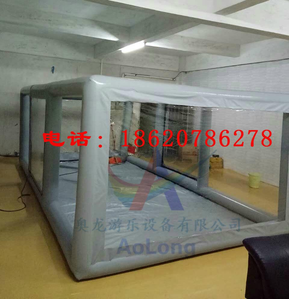 Inflatable car covers, transparent inflatable tent ,Advertising exhibition tent  6