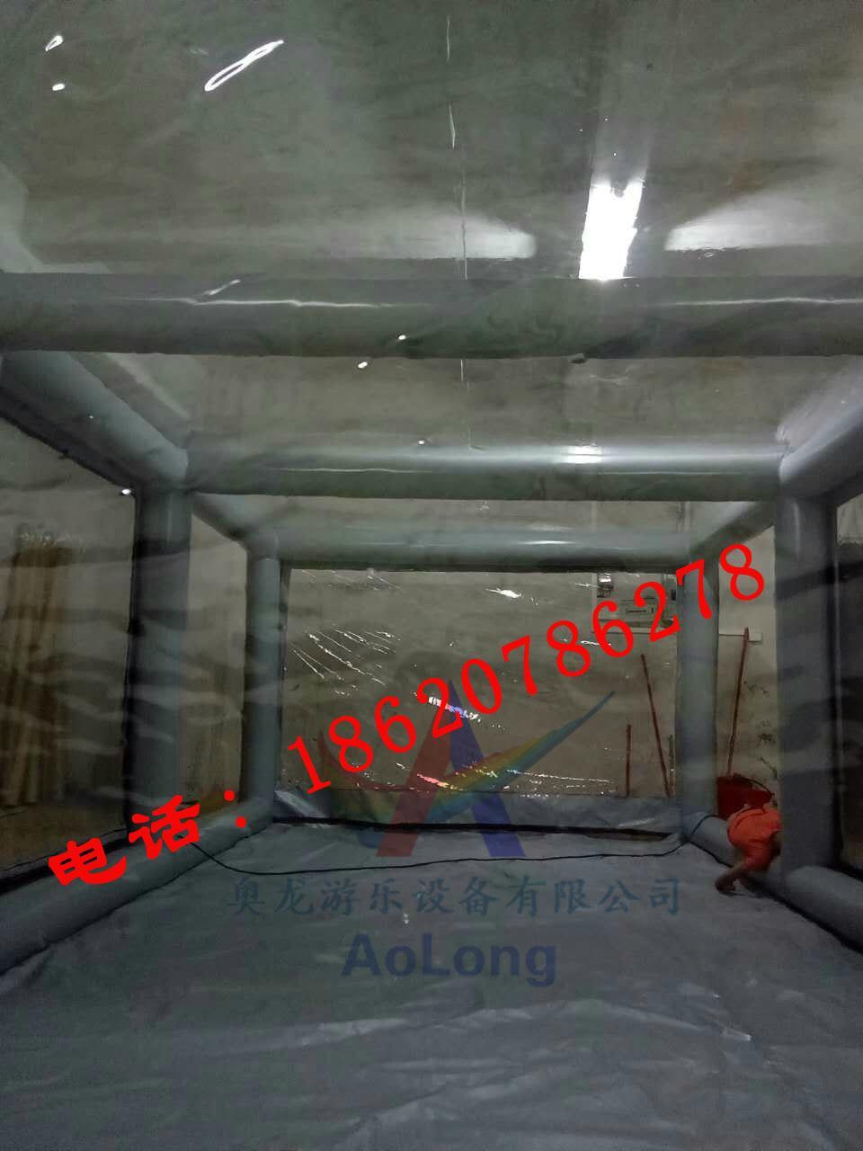 充气车罩,充气透明帐篷,充气广告展览帐篷 7