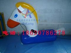 Inflatable Trojan