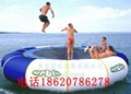 Inflatable water trampoline  2