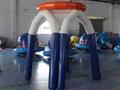 充气篮球框架