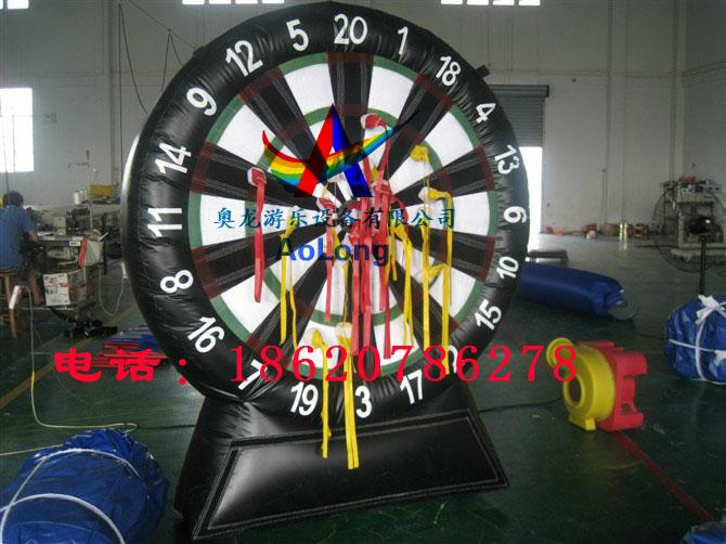 Inflatable dart board  1