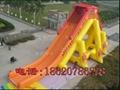 充气大型龙头水滑梯