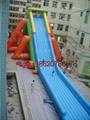 充气大型龙头水滑梯 5