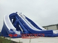 Inflatable large three water slides 7