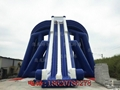 Inflatable large three water slides 9