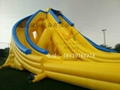 Inflatable large three water slides 4