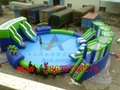 Inflatable water slides the ice world 3