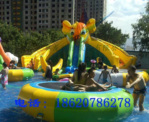 Inflatable elephant water slide 3
