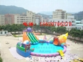 Inflatable octopus slides 6