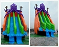 Inflatable octopus slides 4
