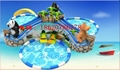 Inflatable jungle adventure (water park)