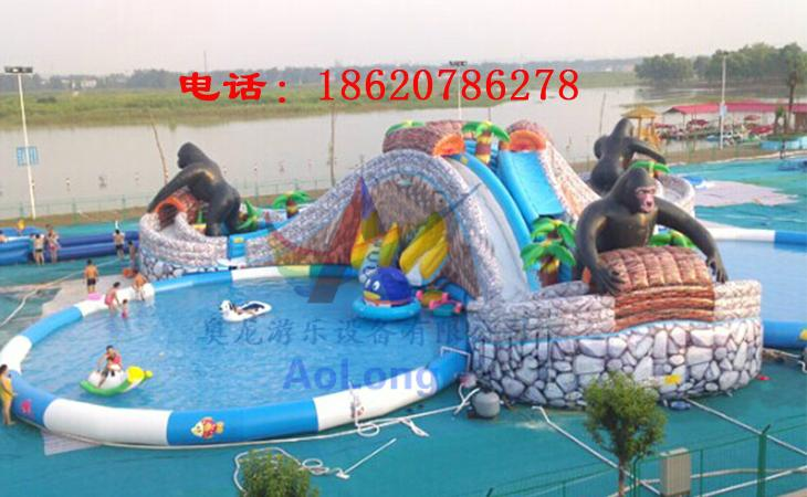 Inflatable jungle adventure (water park) 4