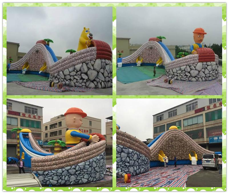 Inflatable jungle adventure (water park) 5