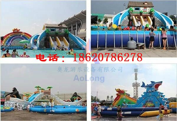 Inflatable bounce house double-sided plastic slide 7