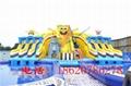 Inflatable spongebob slide (water park) 4