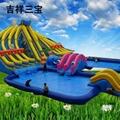 Inflatable spongebob slide (water park) 2