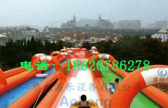 Inflatable super-long city ramp 4