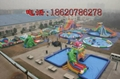 Large inflatable water park 4