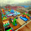 Large inflatable water park 11