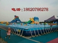 Large inflatable water park 8