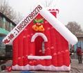 Inflatable Santa house