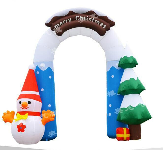 Inflatable Christmas tree (Christmas arch) (Christmas crutches) 2