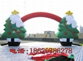 Inflatable Christmas tree (Christmas arch) (Christmas crutches) 7