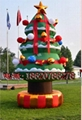 Inflatable Christmas tree (Christmas arch) (Christmas crutches) 8