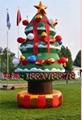 充气圣诞树(圣诞拱门)(圣诞拐杖)