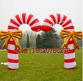 Inflatable Christmas tree (Christmas arch) (Christmas crutches) 6