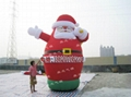 Inflatable Santa Claus, Christmas snowman 1