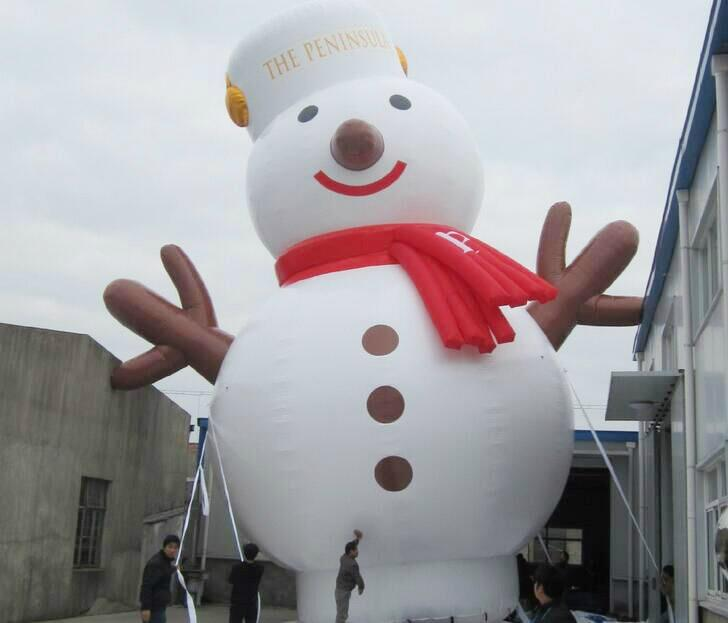 Inflatable Santa Claus, Christmas snowman 2