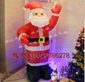 Inflatable Santa Claus, Christmas snowman 3