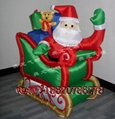 Inflatable Santa Claus, Christmas snowman 4