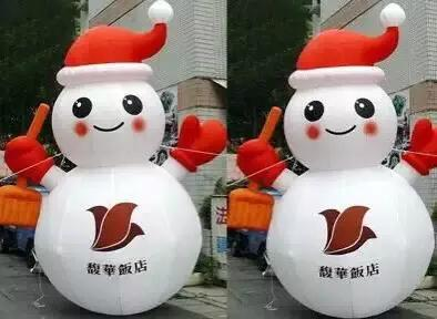 Inflatable Santa Claus, Christmas snowman 6